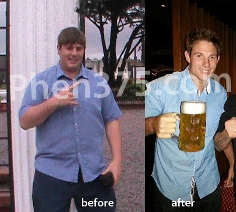 testimonial for brent before after phen 375