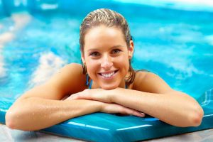 Women doing hydrotherapy