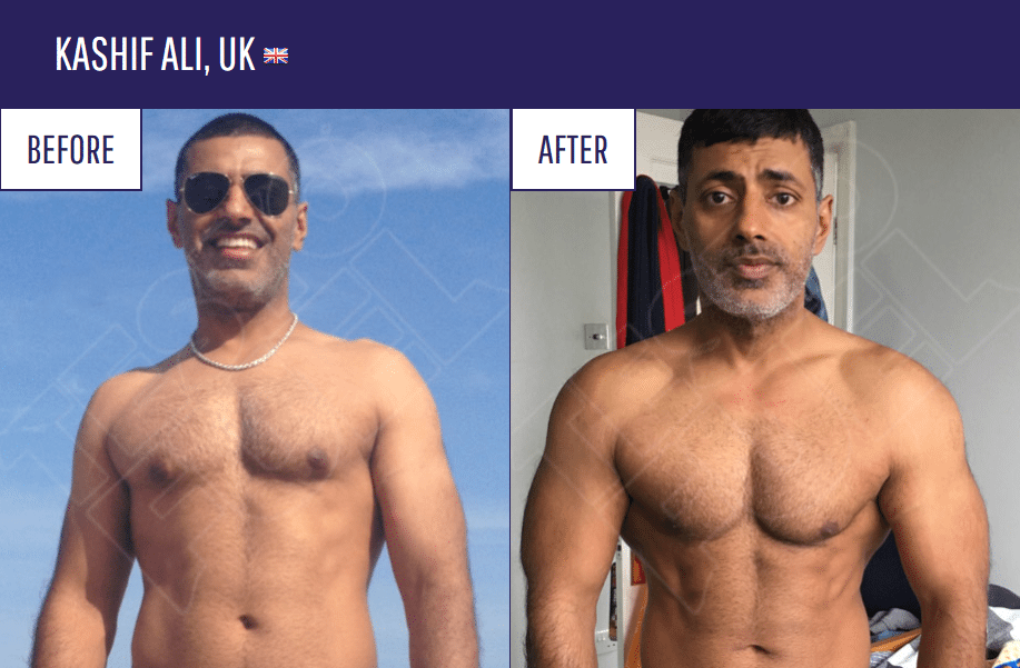 testofuel before after picture