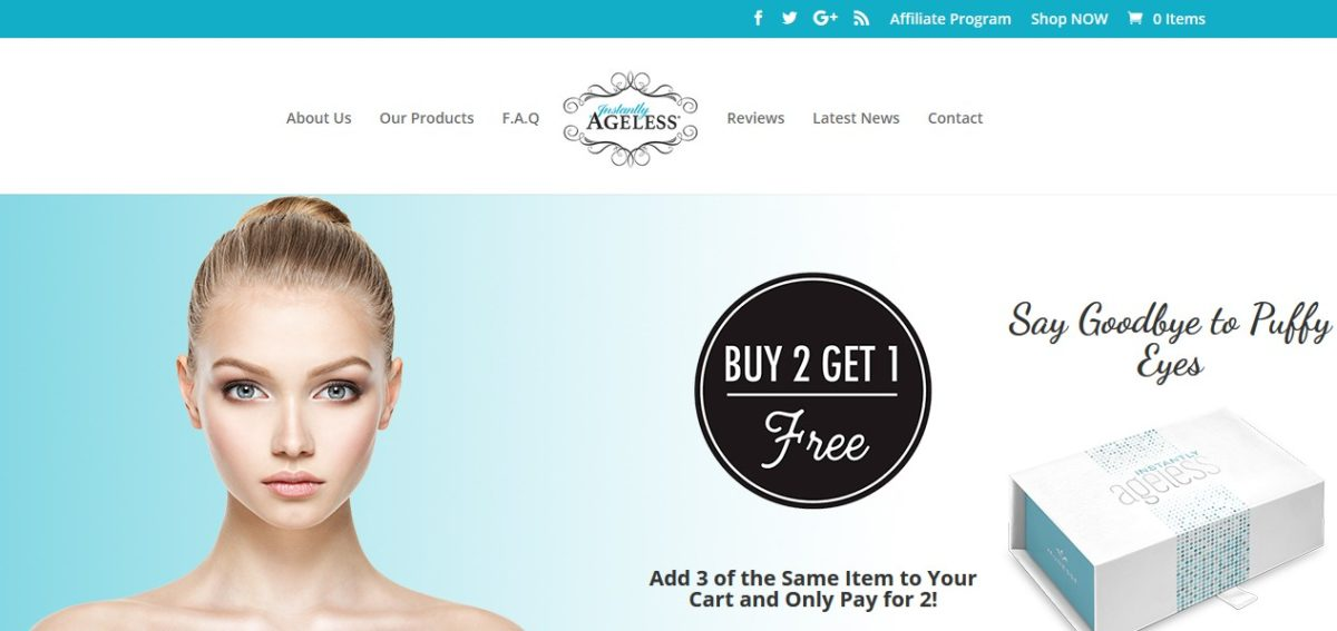 Instantly Ageless official website