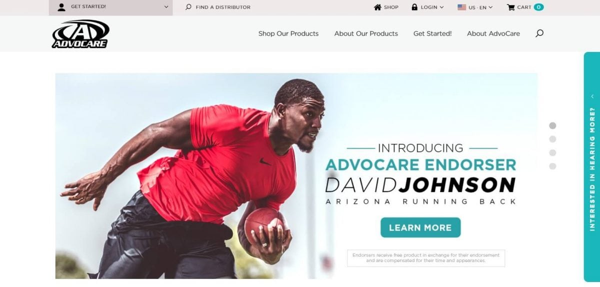 Advocare Official Website